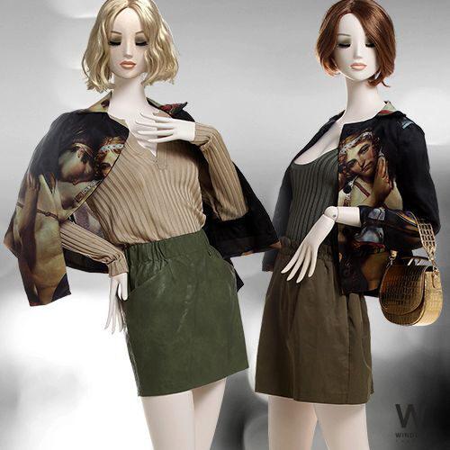 Manichino Donna Vintage Sleek 145 Realistico
