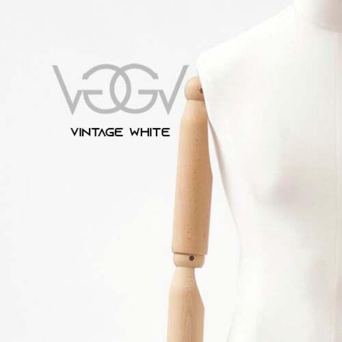 Busti Vintage Uomo Donna in Velluto Bianco